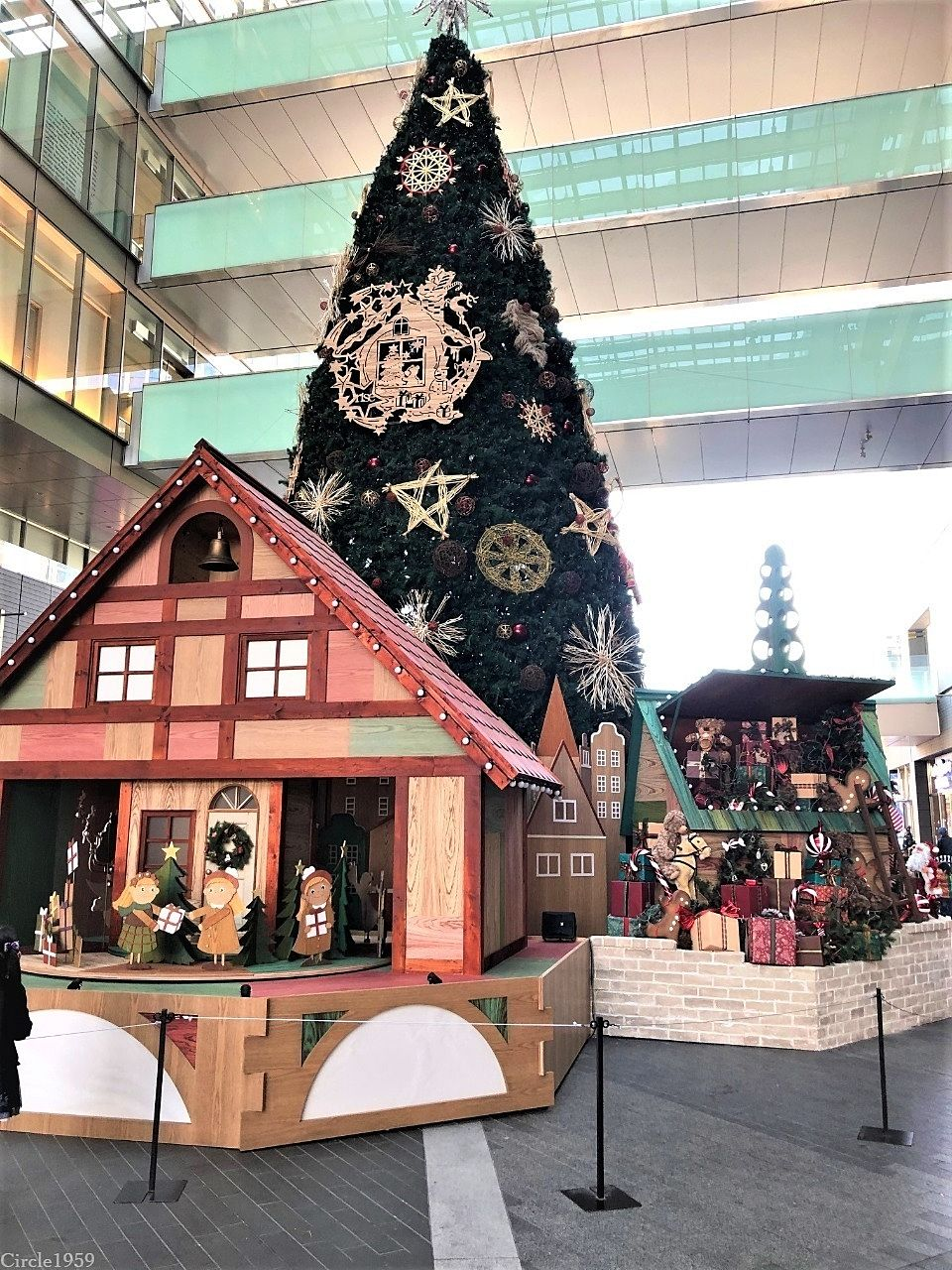 もうすでにクリスマス仕様の二子玉川